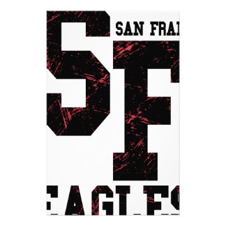 San Fran eagles Stationery