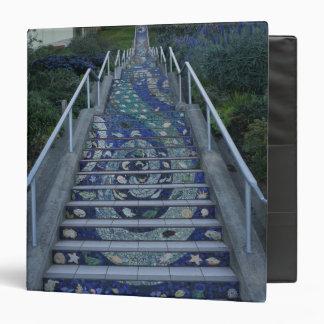 San Francisco 16th Avenue Tiled Steps Binder