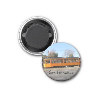 San Francisco 1 Inch Round Magnet