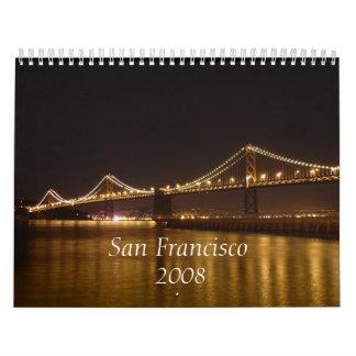 San Francisco  2008 Calendar