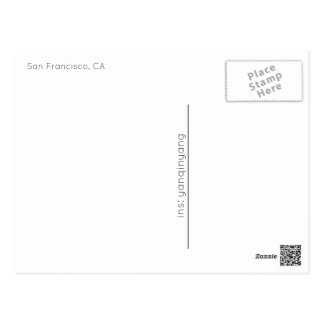 San Francisco 2016 Postcard