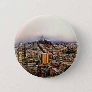 San Francisco 2 Inch Round Button