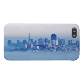 San Francisco above the clouds Case For The iPhone 5