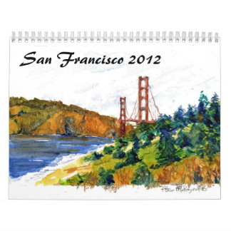 San Francisco and the Golden Gate Calendar