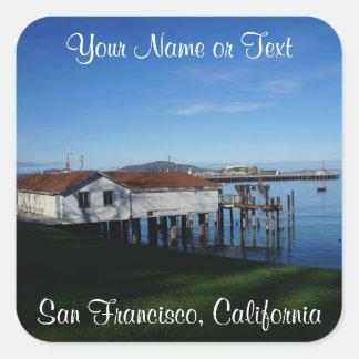 San Francisco Aquatic Park Cove Stickers