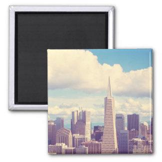 San Francisco Architecture Photo Magnet