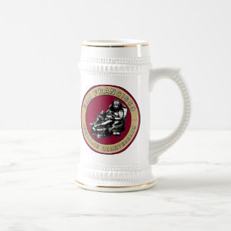 San Francisco Armchair Quarterback Football Stein 18 Oz Beer Stein