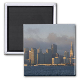 San Francisco as the Fog Lifts Magnet