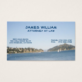 San Francisco Attorney Business Cards