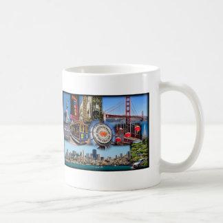 San Francisco Attractions Classic White Coffee Mug
