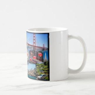 San Francisco Attractions Coffee Mug