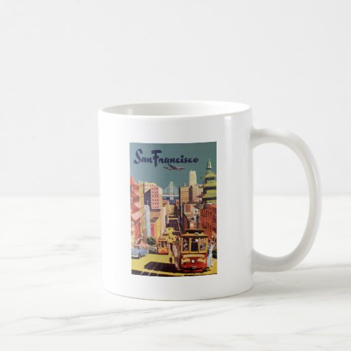 San Francisco Basic White Mug