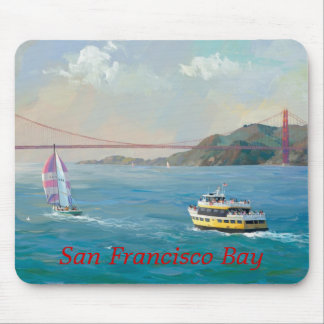 San Francisco Bay, Alexander Chen Mouse Pad