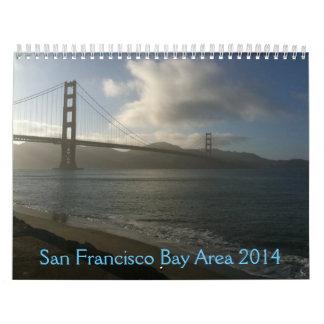 San Francisco Bay Area 2014 Wall Calendars