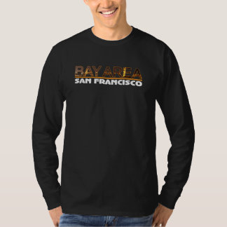 San Francisco Bay Area Long Sleeve T shirt