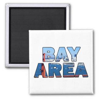 San Francisco Bay Area Square Magnet
