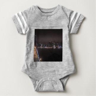 San Francisco Bay Bridge Baby Bodysuit