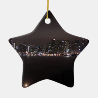 San Francisco Bay Bridge Ceramic Ornament