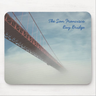 San Francisco Bay Bridge in the Mist Mouse Pad