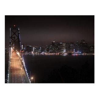 San Francisco Bay Bridge Postcard