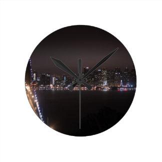 San Francisco Bay Bridge Round Clock