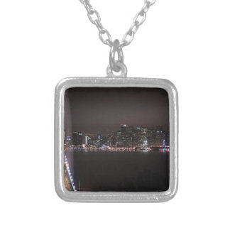 San Francisco Bay Bridge Silver Plated Necklace