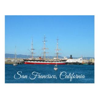 San Francisco Bay California Postcard