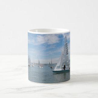 San Francisco Bay Sailing Coffee Mug