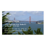 San Francisco Bay Seen From The Precidio Double-Sided Standard Business Cards (Pack Of 100)