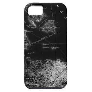 San Francisco Black and White Map iPhone 5 Cover