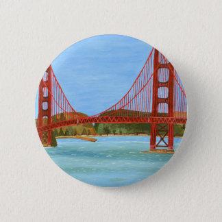 San Francisco Bridge 2 Inch Round Button