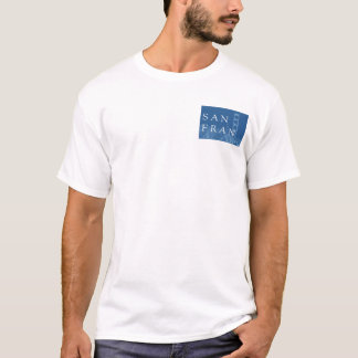 San Francisco Bridge Blue T-Shirt