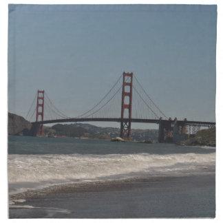 san francisco bridge cloth napkin