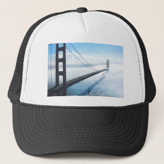 san francisco bridge trucker hat