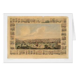 San Francisco, CA. Panoramic Map 1860 (1162A) Card