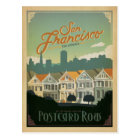 San Francisco, CA - Postcard Row