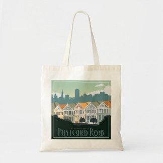 San Francisco, CA - Postcard Row Tote Bag