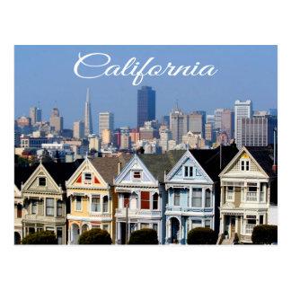 San Francisco CA Skyline Postcard - United States