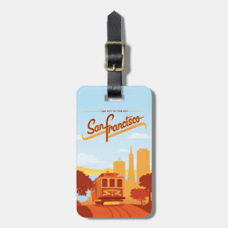 San Francisco, CA - The City by the Bay Luggage Tag