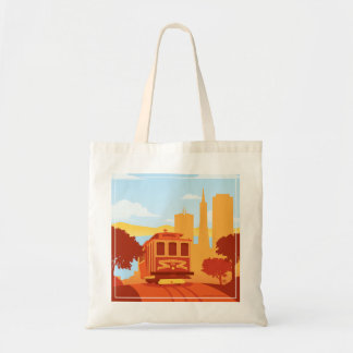 San Francisco, CA - The City by the Bay Tote Bag