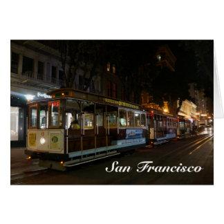 San Francisco Cable Car #3 Card