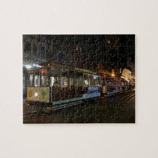 San Francisco Cable Car #3 Jigsaw Puzzle