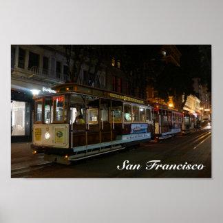San Francisco Cable Car #3 Poster