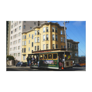 San Francisco Cable Car #4 Canvas
