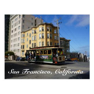 San Francisco Cable Car #4 Postcard