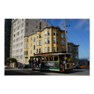 San Francisco Cable Car #4 Poster