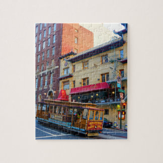 San Francisco Cable Car #5 Jigsaw Puzzle