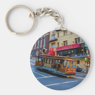 San Francisco Cable Car #5 Keychain