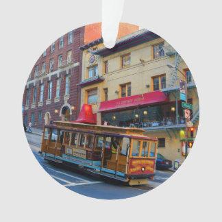 San Francisco Cable Car #5 Ornament