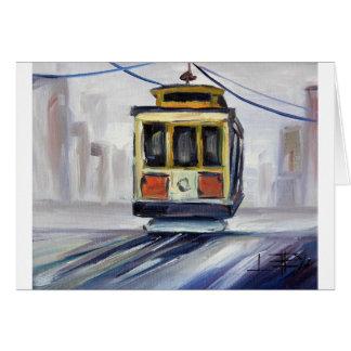 San Francisco Cable Car Card